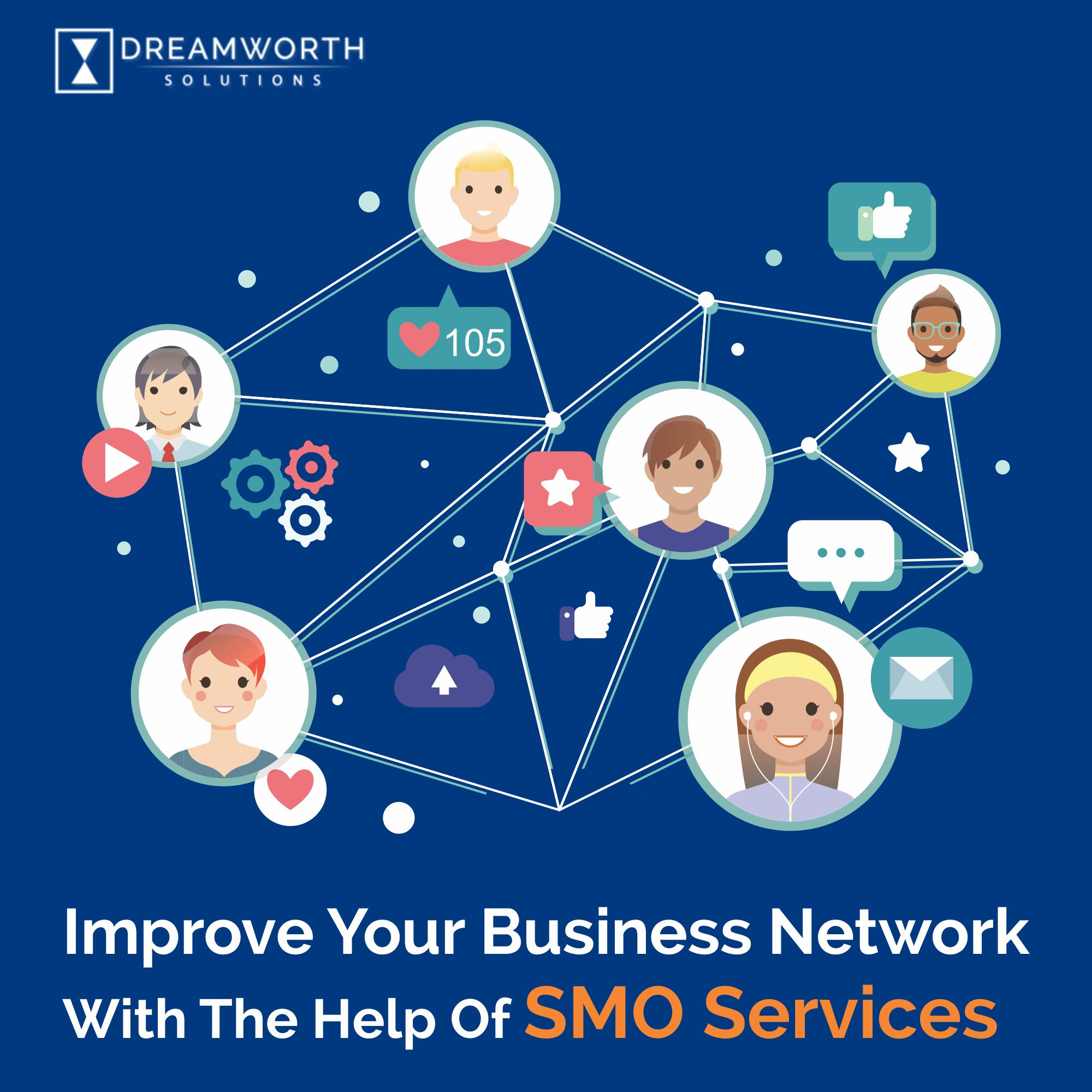 DreamWorth Solutions is one of the famous SMO Company in Pune