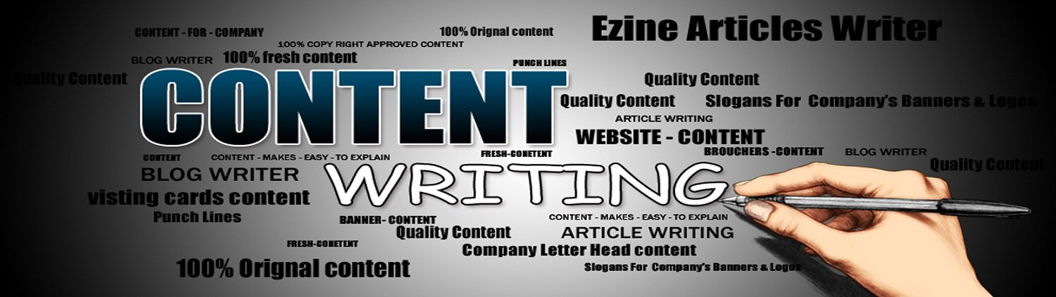 Writing content for website